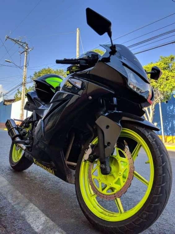 Ganga!! kawasaki ex250cc 2008