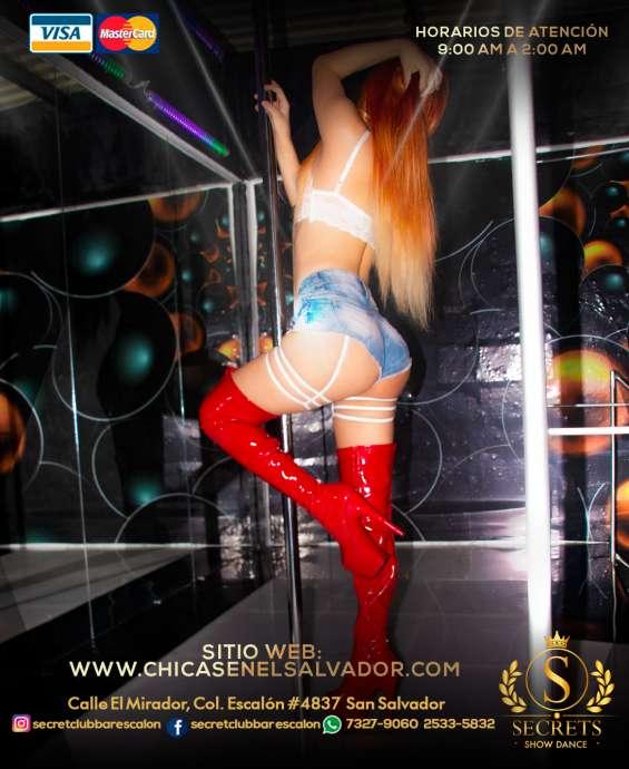 Secret show dance diseñado para caballeros de buen gusto, es el mejor lugar de en la colon
