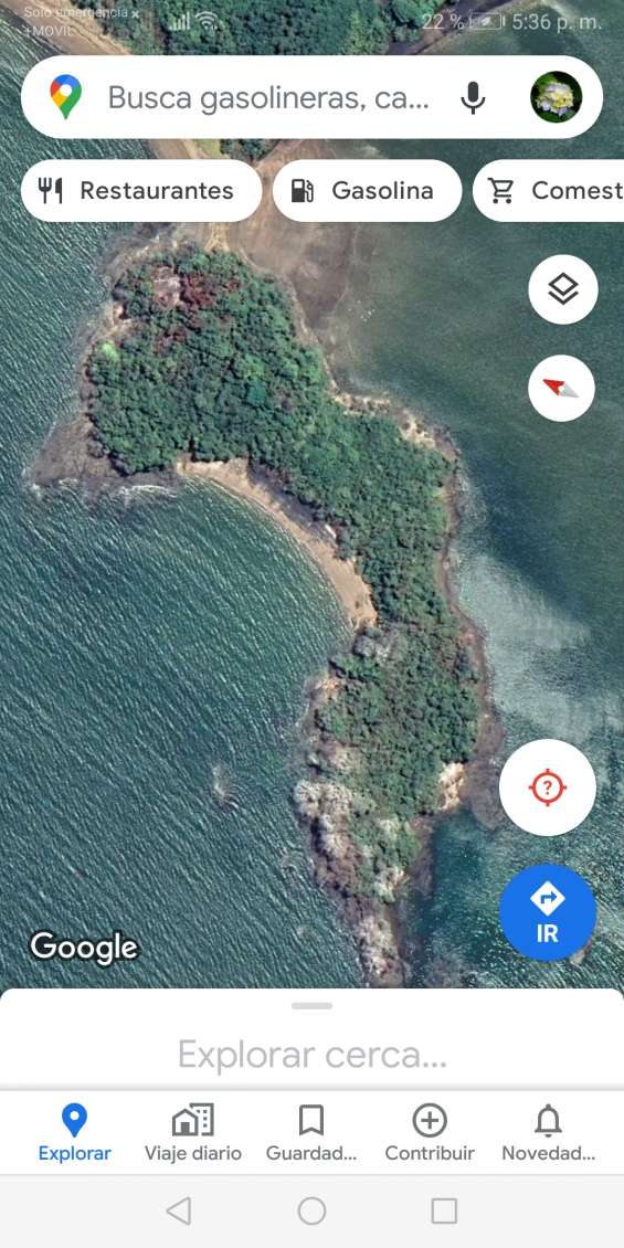 Isla del pacifico
