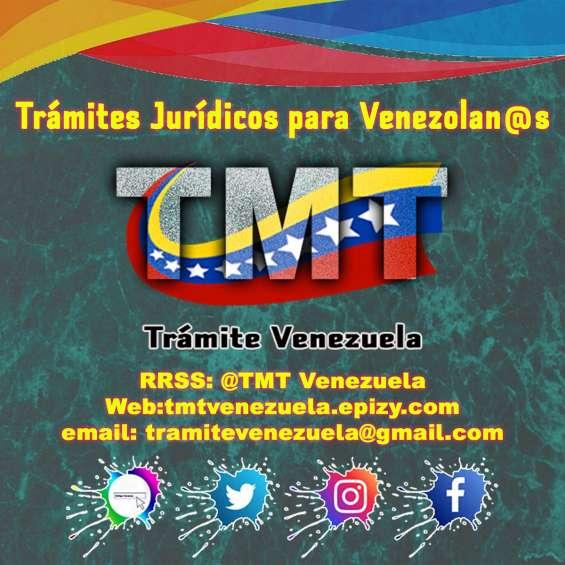 Apoyo jurídico para venezolanos migrantes
