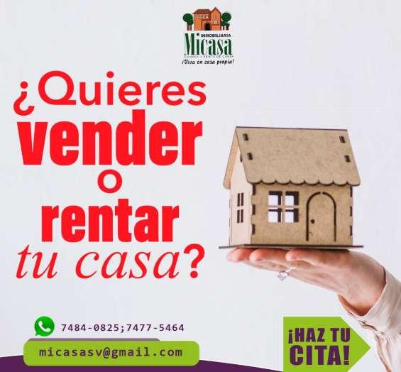 Quieres vender tu casa desmantelada o con mora, te ayudamos