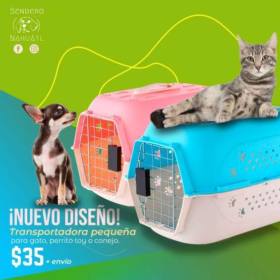 Jaula transportadora o kennel para gato o perro toy
