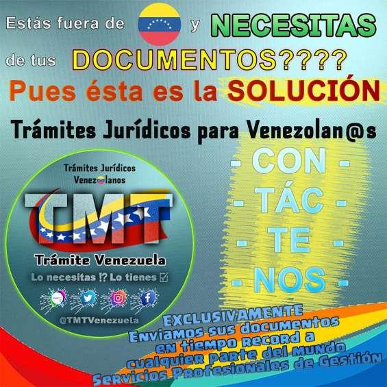 Procedimientos jurídicos venezolanos