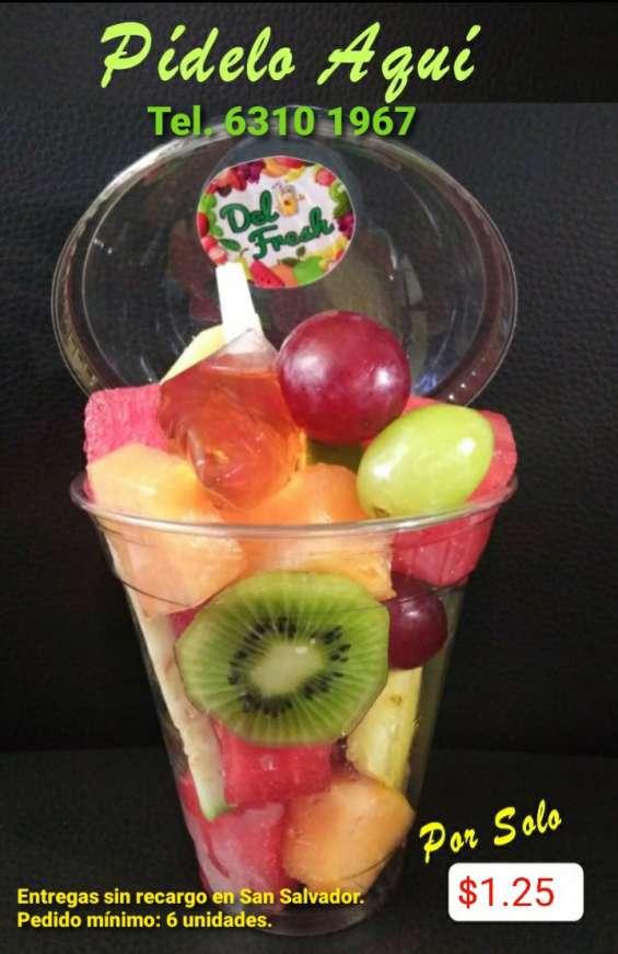 Cócteles de fruta