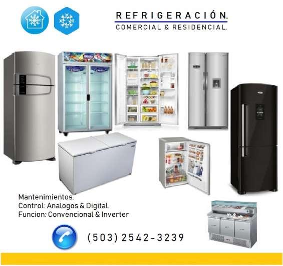 Refrigeracion comercial, y residencial (mantenimiento)