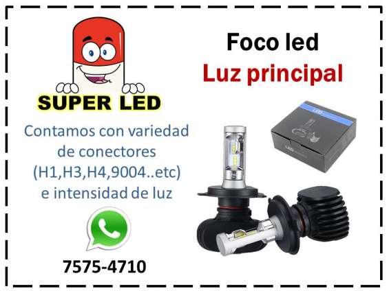 Luz led principal para automóvil y motocicleta